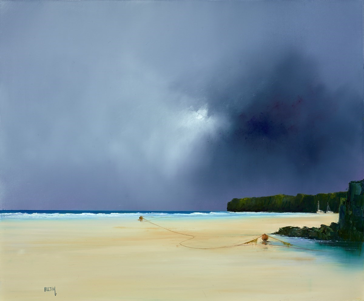 Round from Bedruthan by Barry Hilton -  sized 24x20 inches. Available from Whitewall Galleries